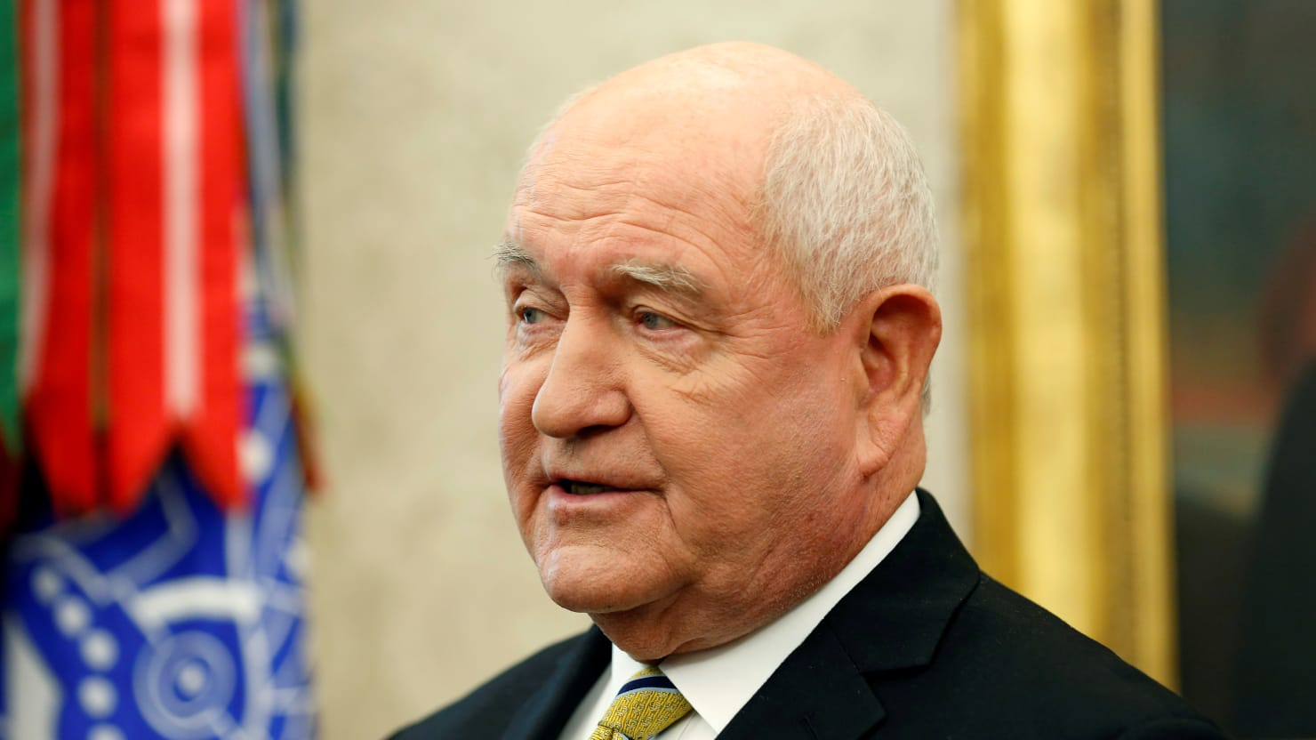 Agriculture Secretary Sonny Perdue: 'Farmers Are Casualties' of Trump's Trade War