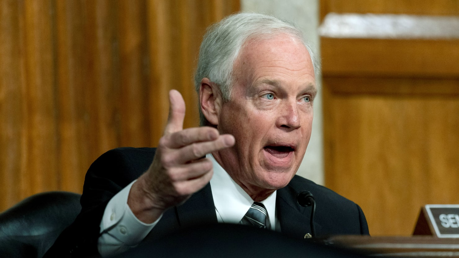 Sen. Ron Johnson Forces Senate Clerks to Spend 11 Hours Reading Out 628-Page COVID Bill