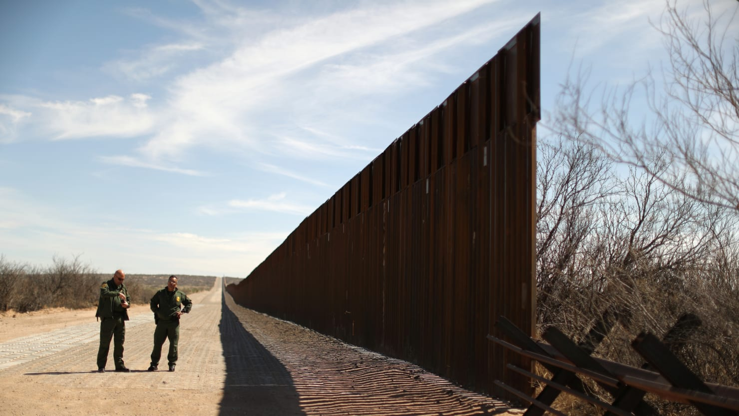 Federal Judge Blocks Part of Trump's Border Wall Plans