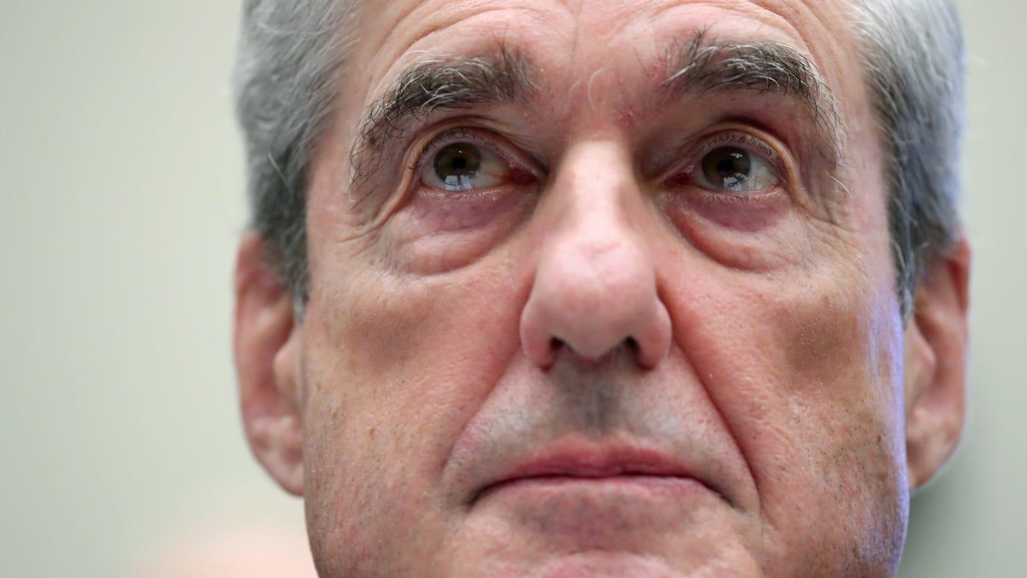 thedailybeast.com - Blake Montgomery - Robert Mueller Denounces Trump's Roger Stone Rescue in Op-Ed
