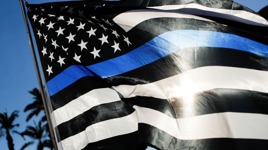 Utah Teen Charged With Hate Crime for Allegedly Crumpling Up 'Back the Blue' Sign