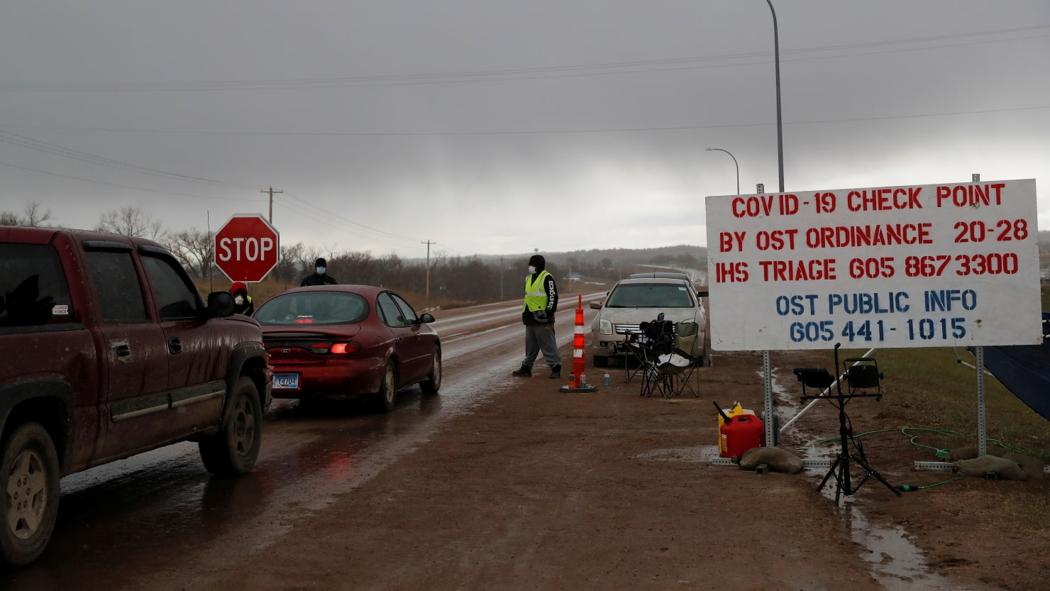 Oglala Sioux Tribe Orders 72-Hour Lockdown After COVID-19...