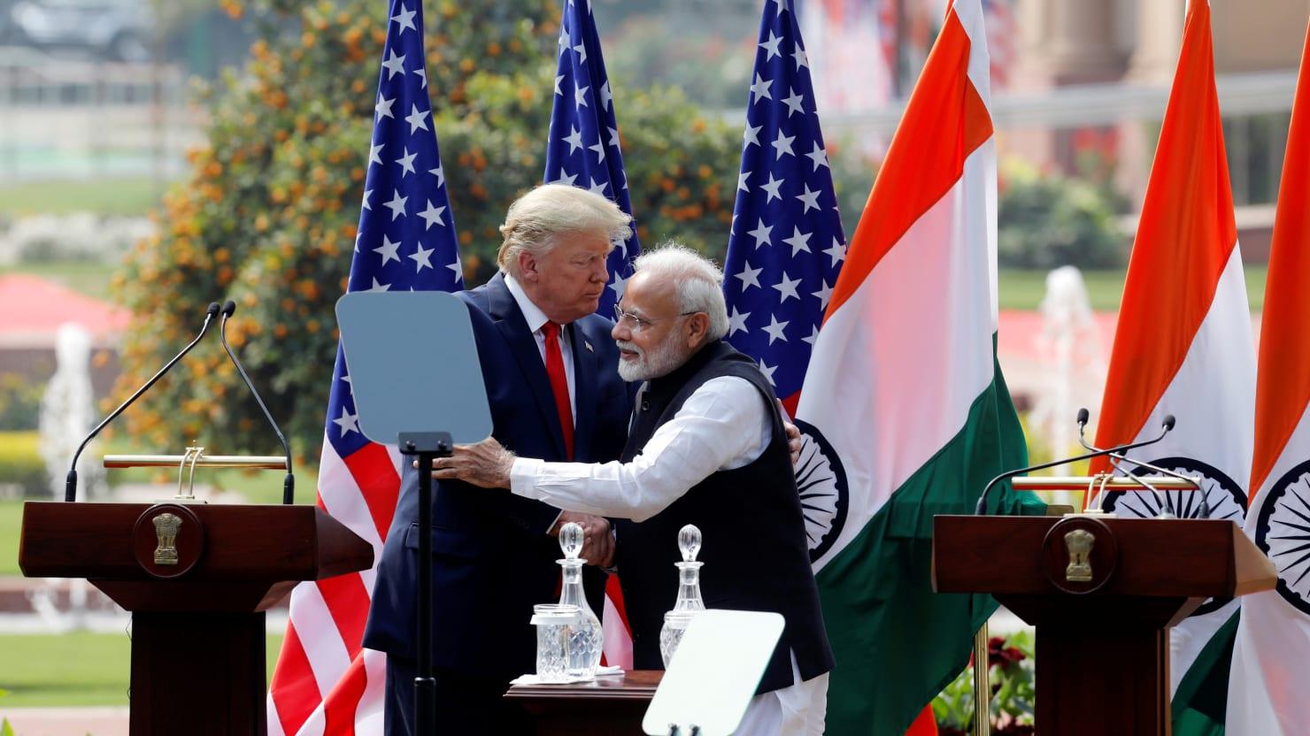 Trump's Delhi Visit Overshadowed After Seven People Killed in Mass Violence