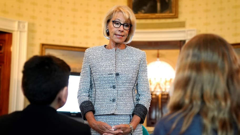 Despite What Devos Wants You To Believe >> Betsy Devos Round The Clock Security Costing Taxpayers 20m Says
