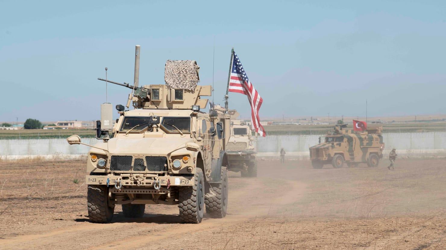 thedailybeast.com - Barbie Latza Nadeau - U.S. Troops Leaving Northern Syria Are Heading to Western Iraq