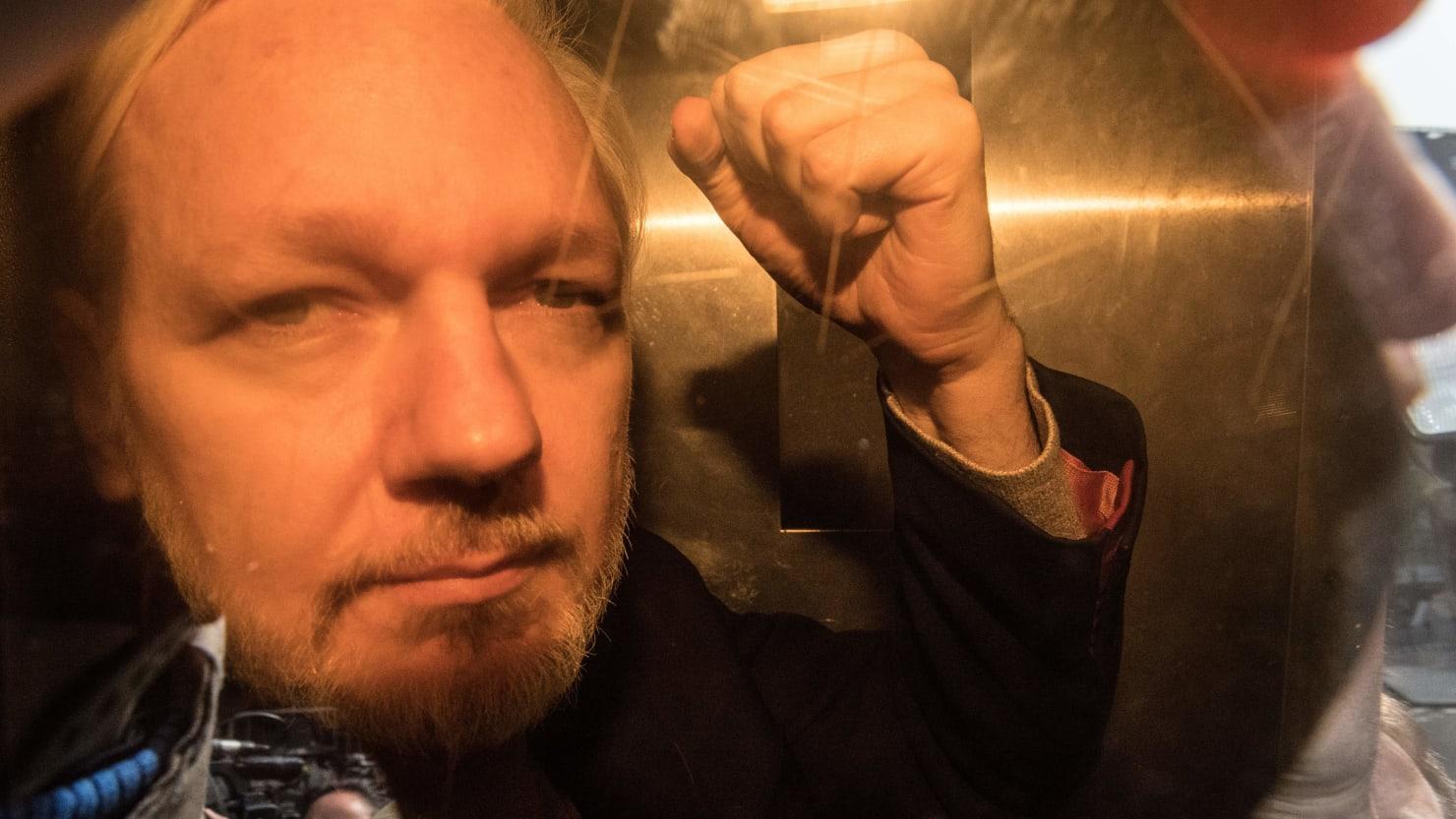 Julian Assange Sentenced To 50 Weeks In British Prison
