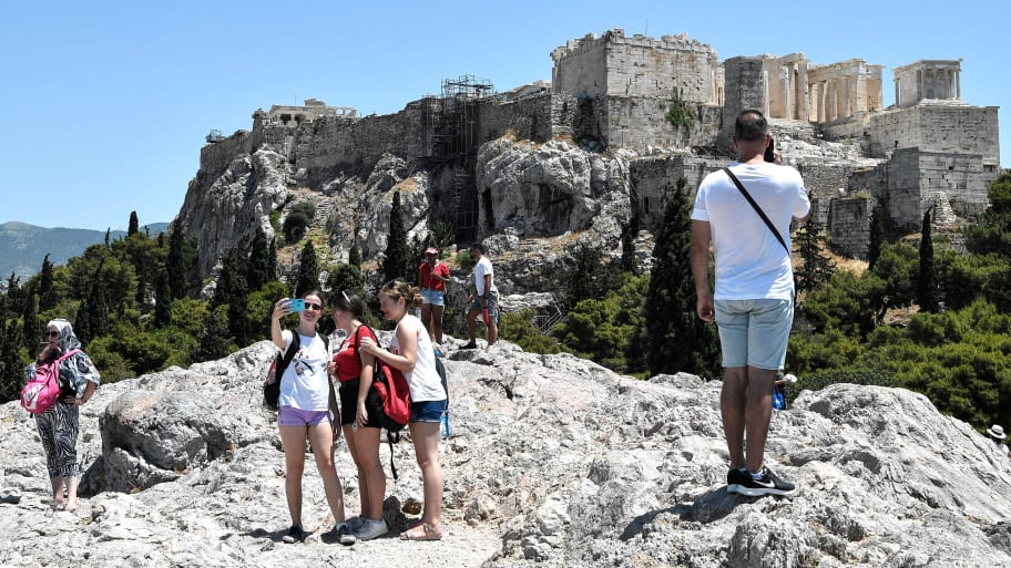 Europe Heat Wave: Greece Closes Acropolis Due to Broiling Temperatures