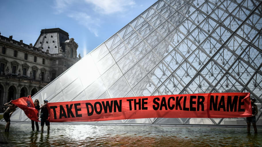Louvre Removes Sackler Family Name From Museum Walls