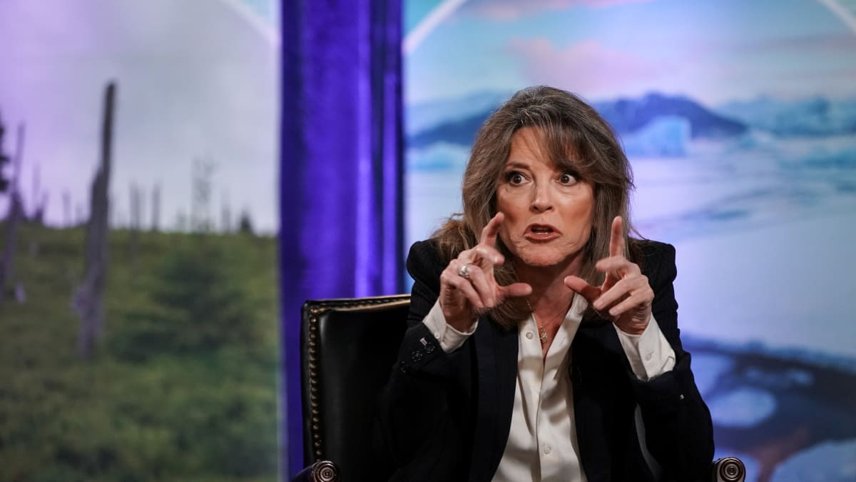 Marianne Williamson Falls for Satirical Article Claiming Trump Pardoned Charles Manson