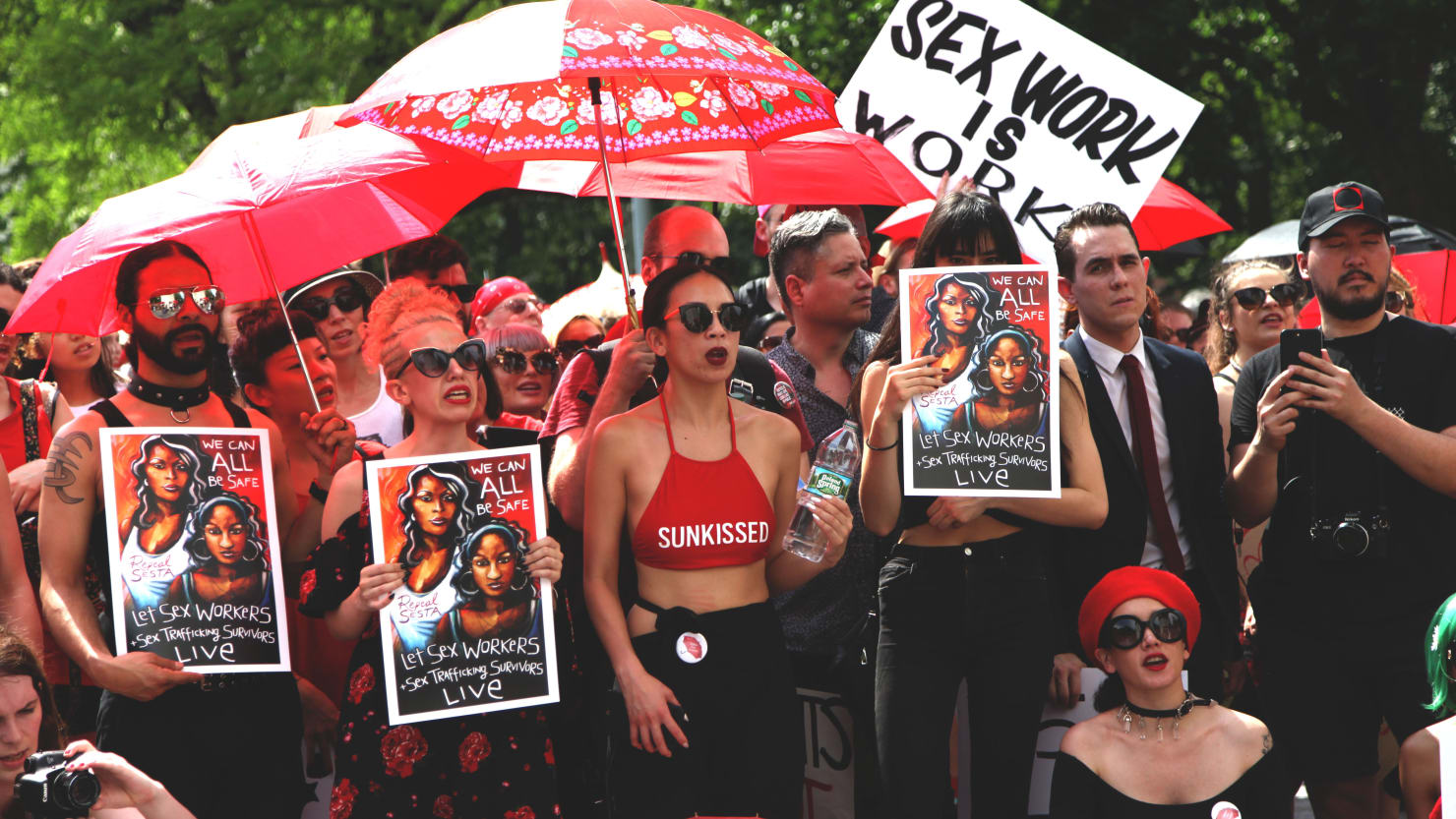 On Saturday In New York, Sex Workersu0027 Rights Activists Gathered To Denounce  Legislation That Puts Lives In Danger U2014 And To Reclaim A Day With A History  Of ...