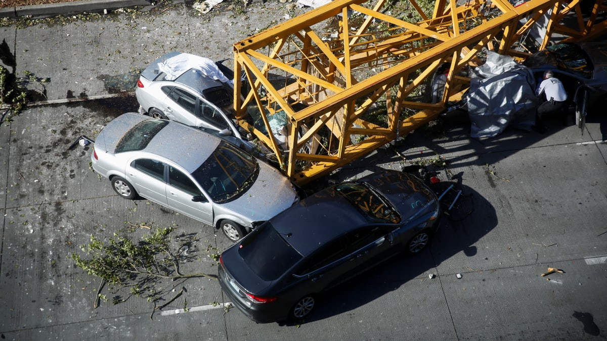 Seattle Crane Collapse: Companies Fined For 'Totally Avoidable' Accident Which Killed Four