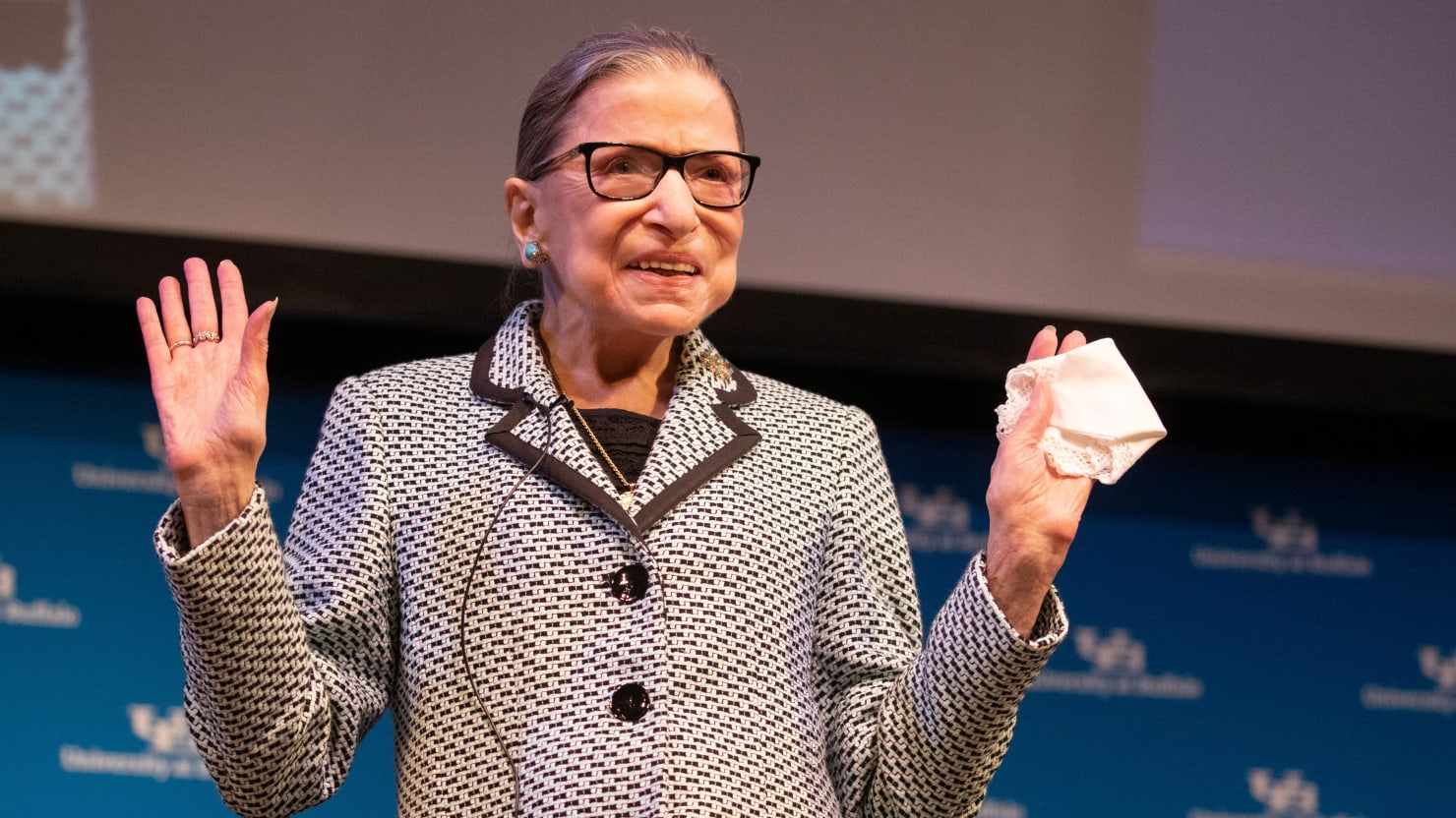 Supreme Court Justice Ruth Bader Ginsburg Won't Give Up Working Out with Trainer Despite Coronavirus Fears