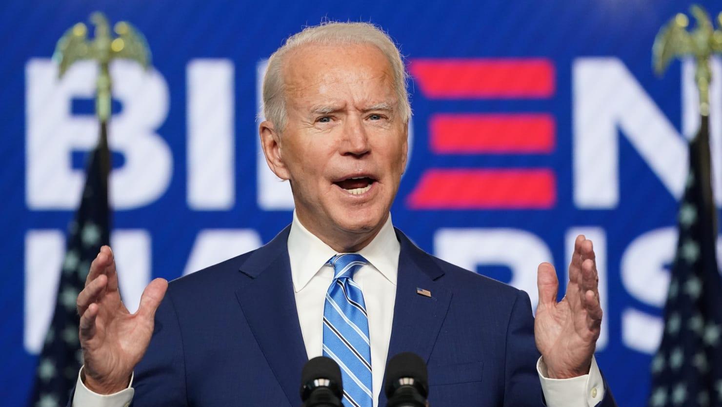 Joe Biden to Americans: Keep Calm, Count the Votes