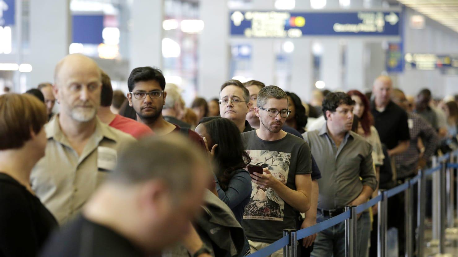 Stuck Waiting At Airport Security Blame This Company And Tsa