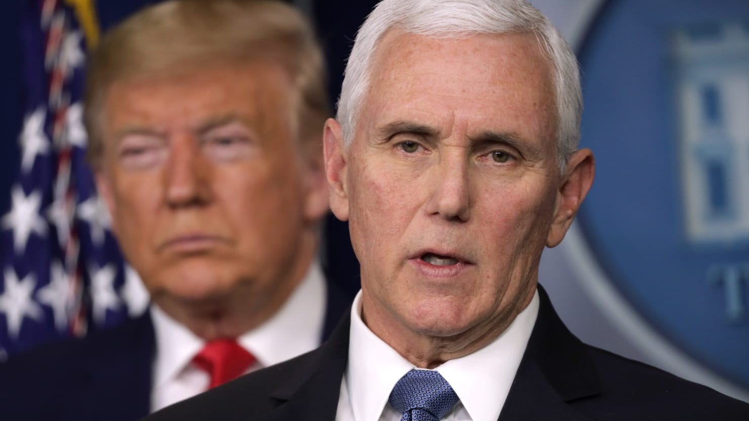 VP Mike Pence Refutes Reports He's Self-Isolating After Aide Tests Positive for Coronavirus 1