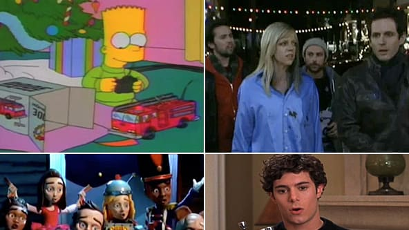 the top 10 nontraditional christmas tv episodes