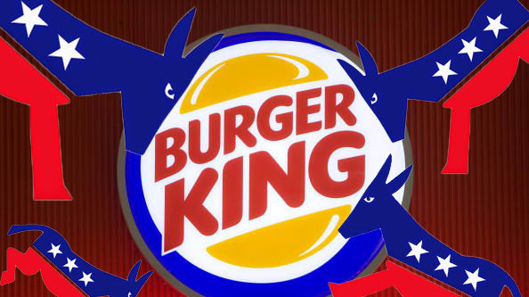 The Democrats Have Found a New Boogeyman, and It's Burger King