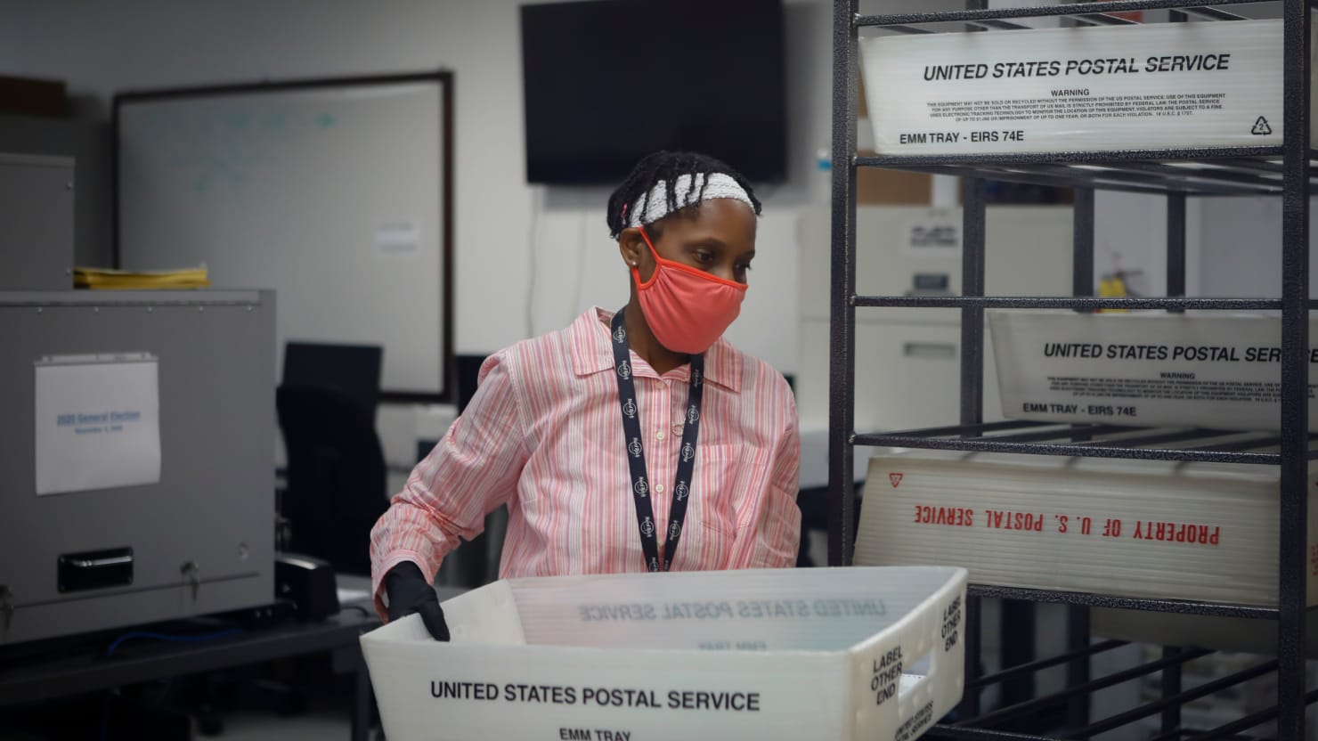 U.S. District Judge Orders USPS to Sweep Some Processing Centers for Stray Ballots