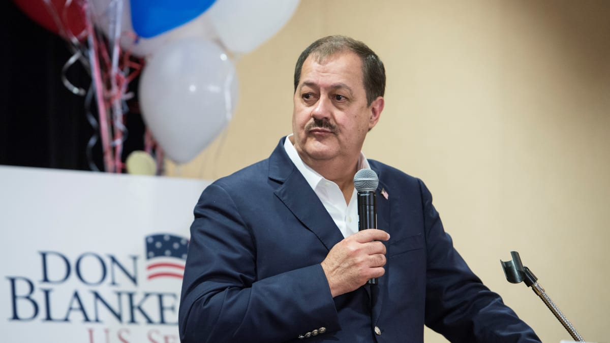 Ex-Coal Magnate Don Blankenship, Who Coined 'Cocaine Mitch,' Announces Third-Party 2020 Bid