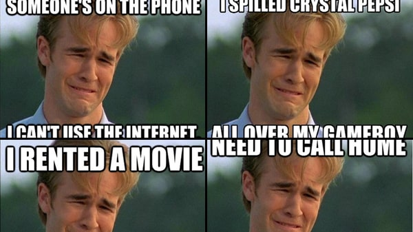 Meme of the Week: 1990s First World Problems