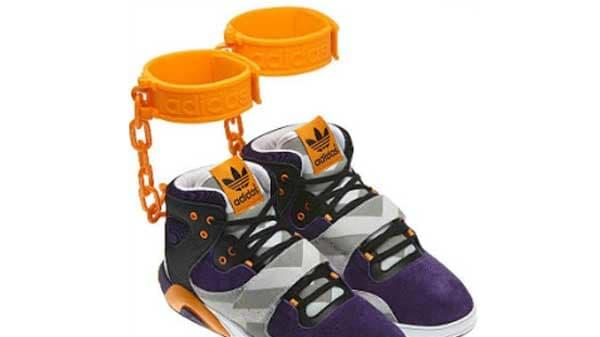 Adidas Pulls 'Shackle' Sneakers