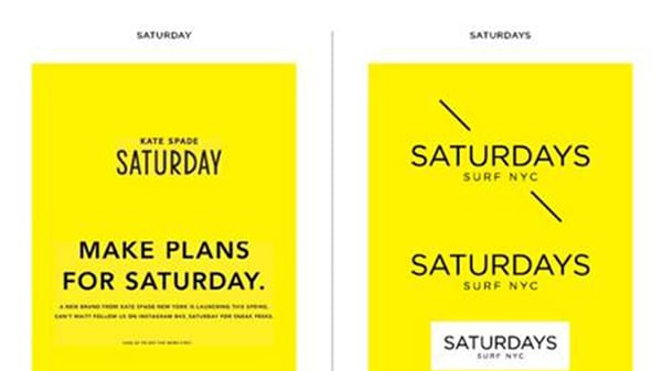 kate spade saturday and saturdays surf nyc battle over branding