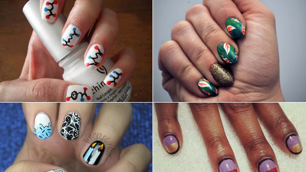 Nail Art Explodes On Tumblr And Instagram Photos