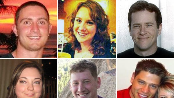 Aurora, Colorado's 12 Shooting Victims (Photos)