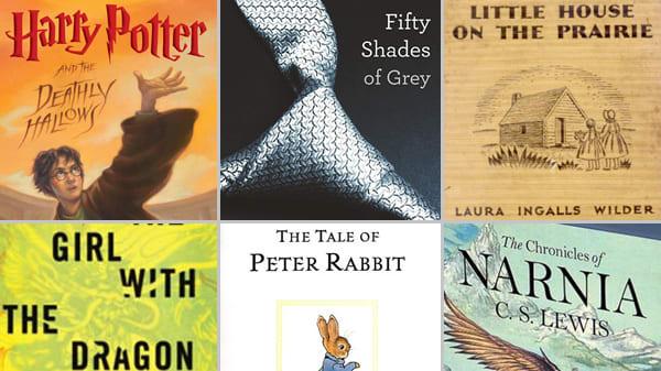 best seller fiction novels of all time