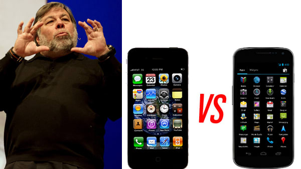 Even Woz Thinks the Android Bests the iPhone