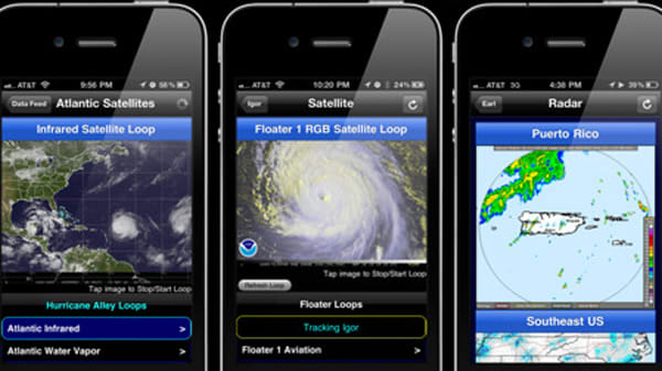 Hurricane Apps: 7 Best Irene Trackers for iPhone, iPad, Android