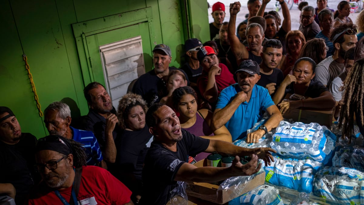 Puerto Rico Residents Find Warehouse Full of Unused Aid Two Years After Hurricane Maria