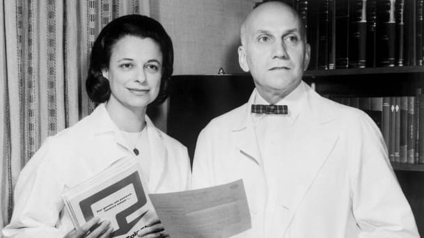 Virginia Johnson and William H. Masters.