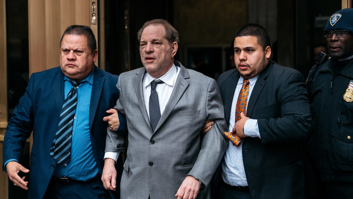 Harvey Weinstein Mishandled Ankle Monitor, Violated Bail Conditions: Prosecutors