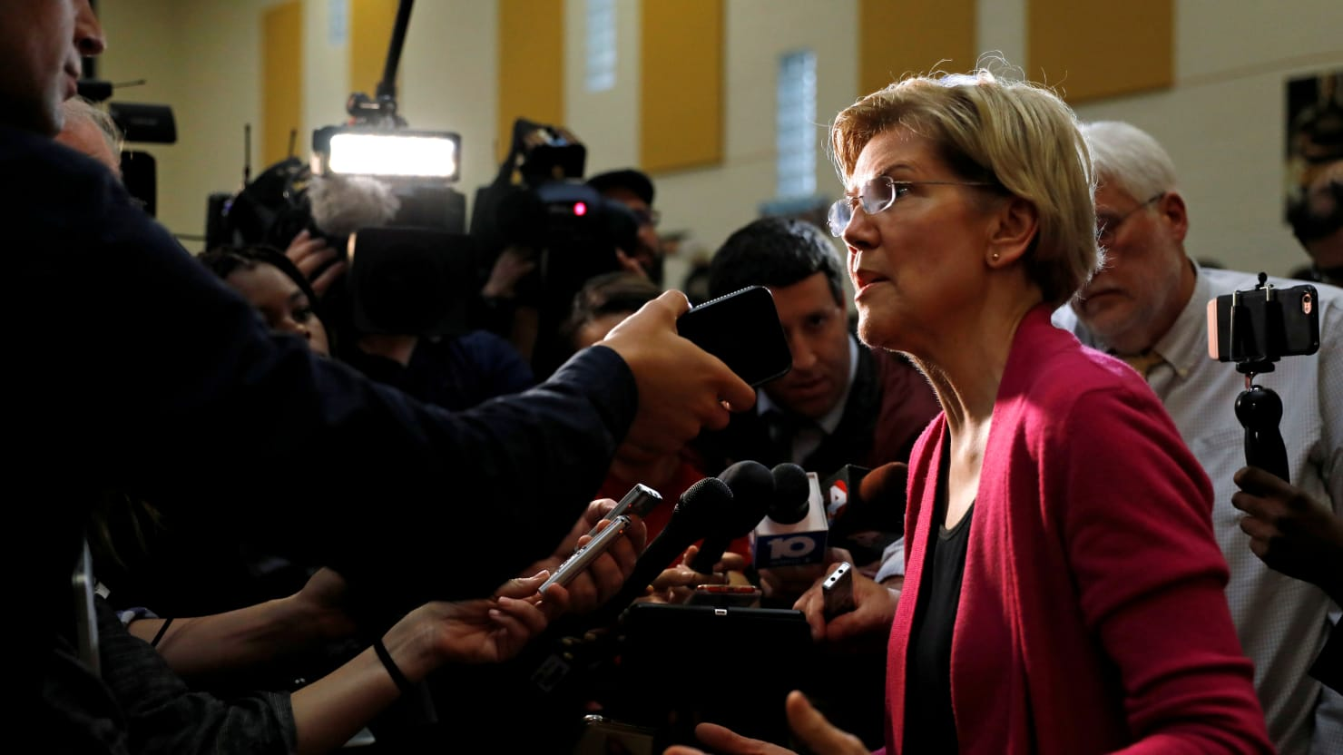Warren Had Dozens More Legal Clients Than She Previously Disclosed