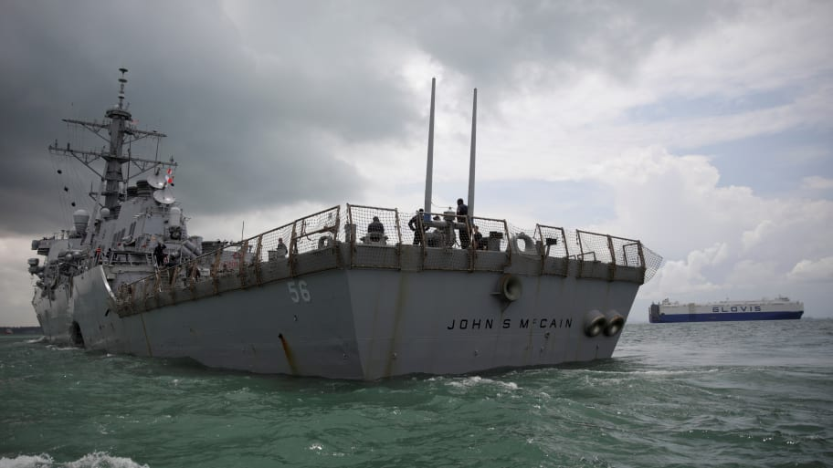 21ba84614642 U.S. Navy Confirms There Was Request to Hide USS John S. McCain for ...