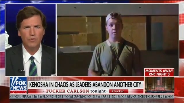 Tucker Carlson Justifies Kenosha Shootings: Vigilante Kid Did What 'No One Else Would'