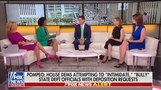 Fox News Hosts Push Back on Jason Chaffetz Over Trump Transparency: What About Pompeo and Ukraine Call?
