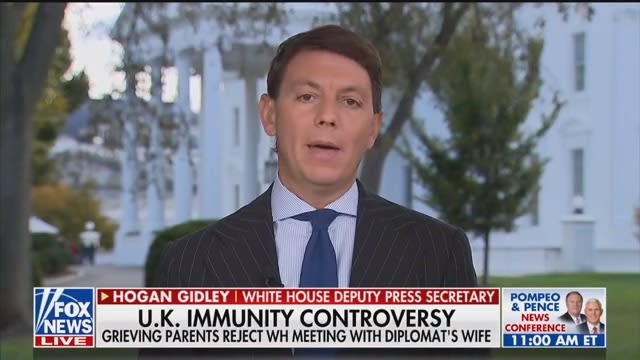 Trump Flack Hogan Gidley Stops Just Short of Bashing the Grieving Dunn Family: 'Entitled to Their Own Opinion'