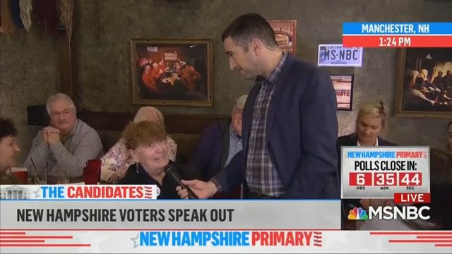 Democrat to MSNBC: I Voted for Bernie Because You Smeared Him
