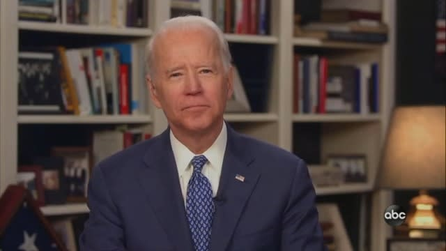 Joe Biden: Democrats 'May Have to Do a Virtual Convention' Due to COVID-19