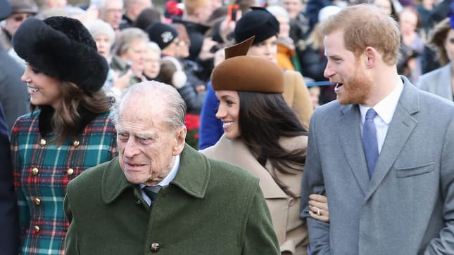 Prince Philip Told Harry Dating Meghan was OK, But Marrying Her Was Not, Report Claims