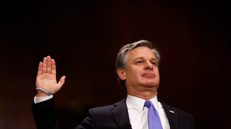 Most Domestic Terrorism Arrests Tied to White Supremacy: FBI Director Christopher Wray