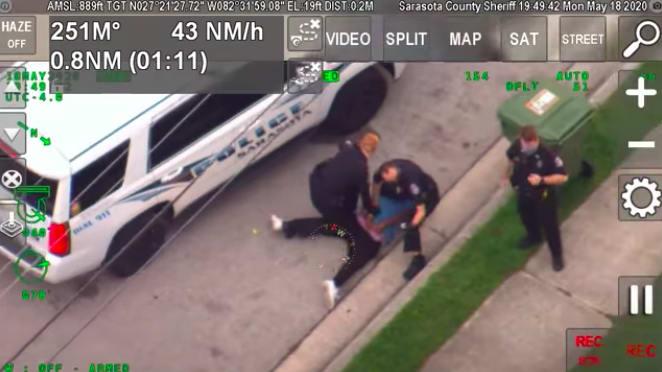 Florida Cop Put on Leave After Kneeling on Black Man's Neck, Says Report