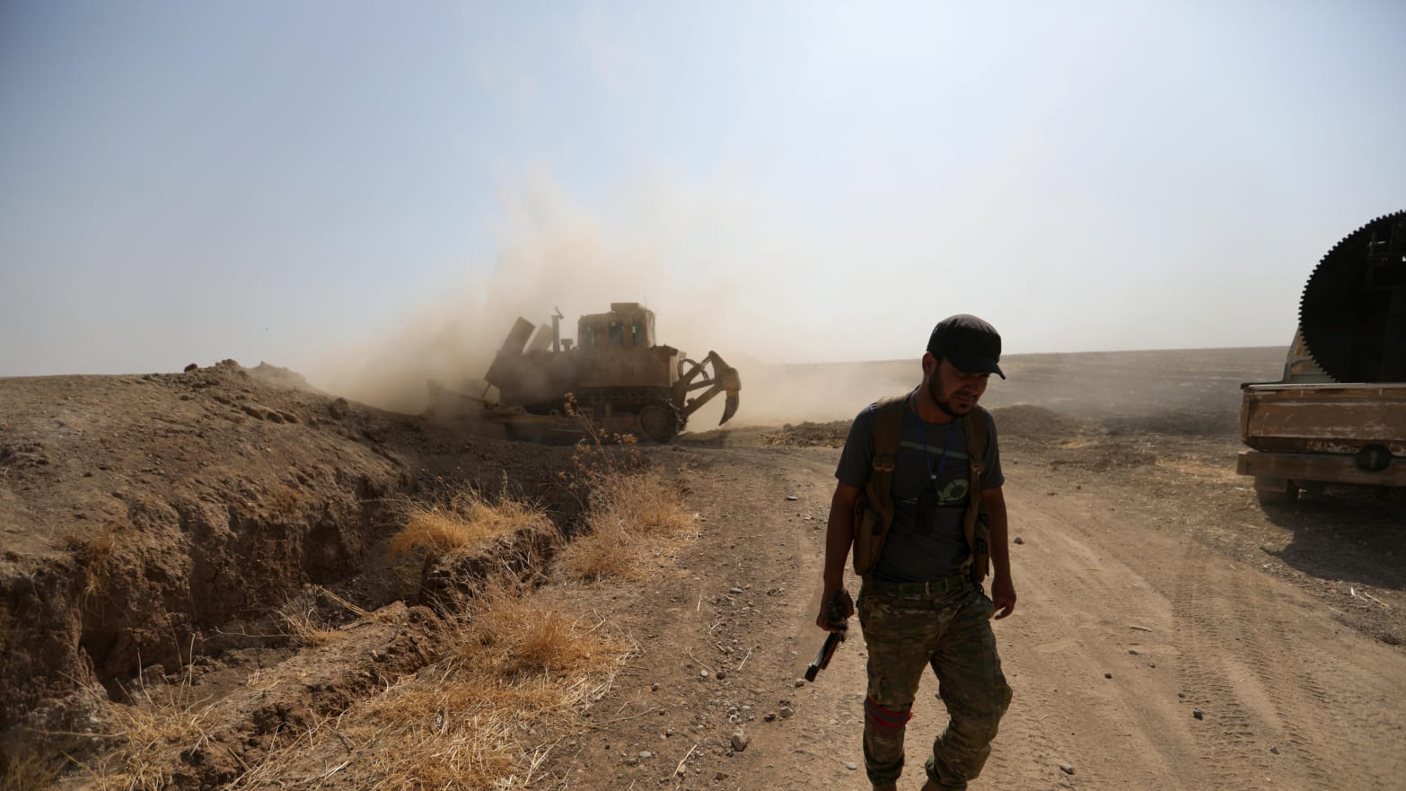 U.S. Forces Reported Preventing Syrian Regime Forces from Helping Kurds Fight Turkey
