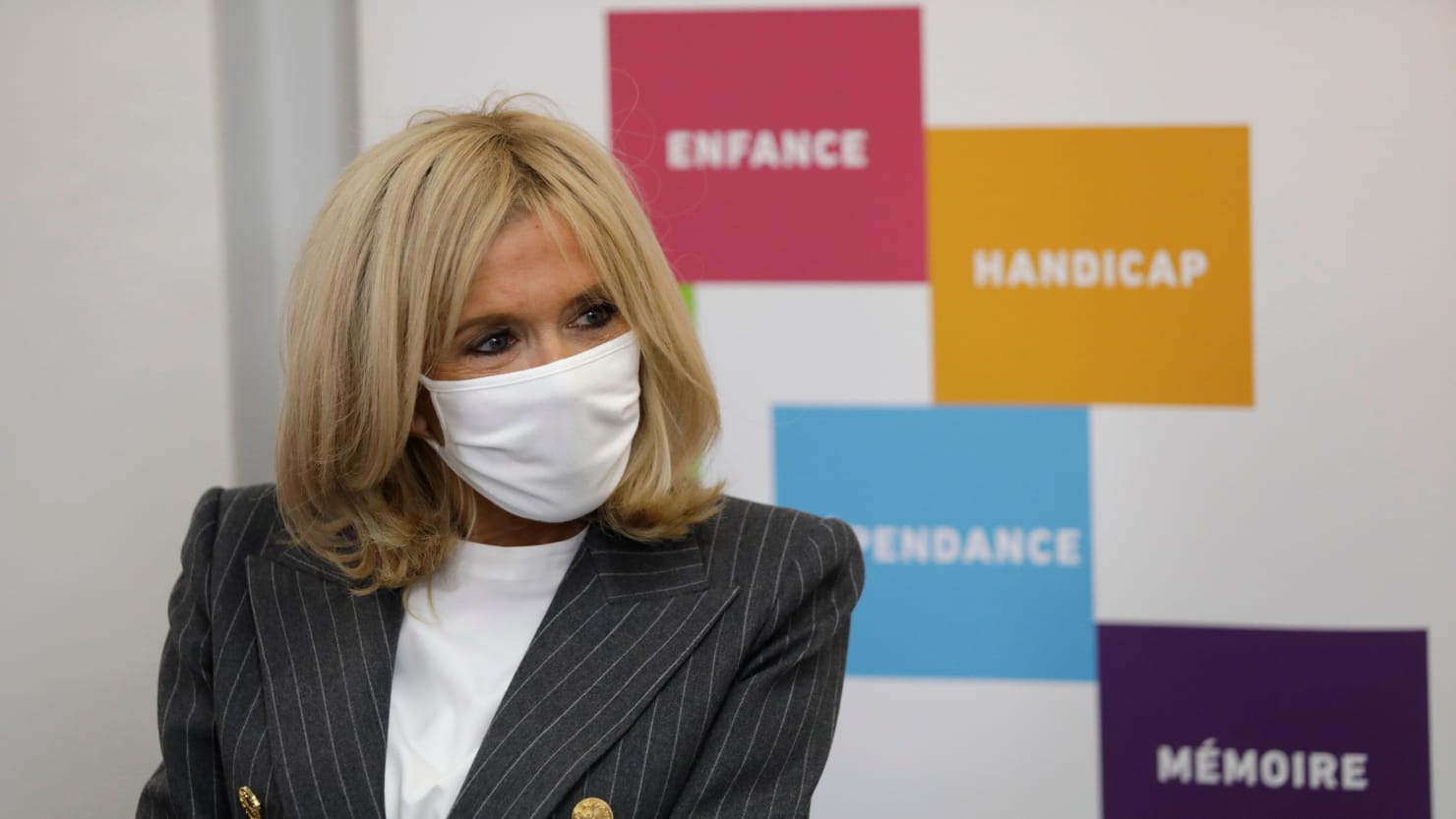 First Lady of France Brigitte Macron Isolating After Contact With COVID-19 Patient