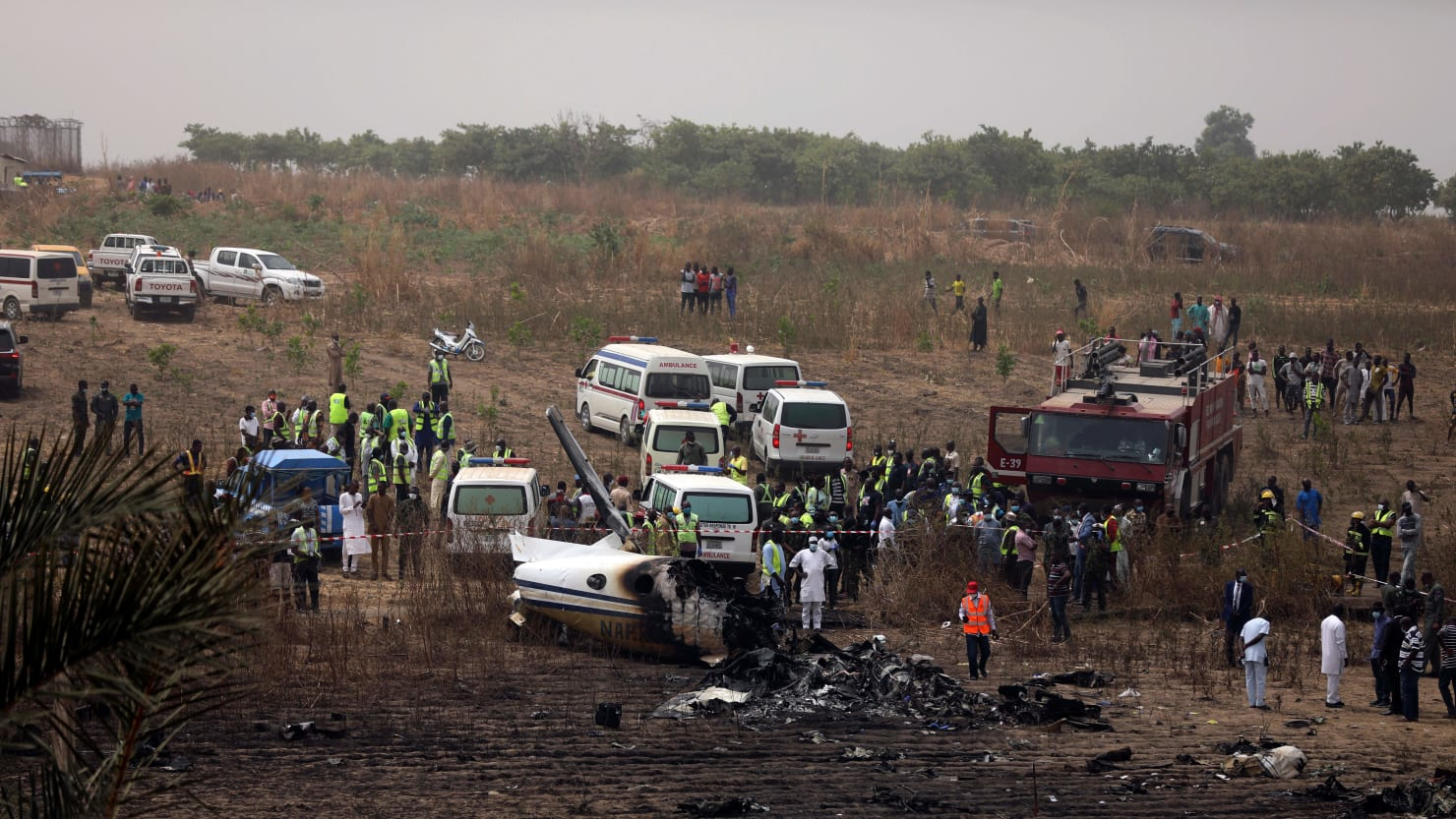 Officers killed in Nigeria plane crash were close to finding location of kidnapped students