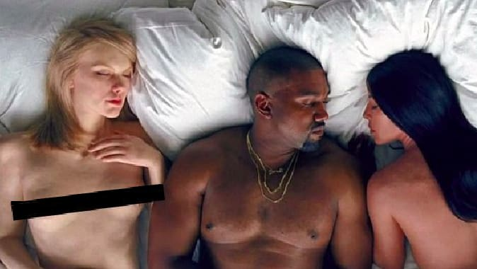 Video kanye a kim sex