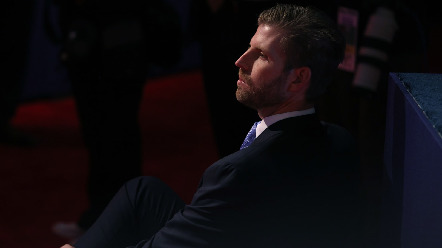 Eric Trump Asks for Prayers for His Father Over COVID-19 Battle