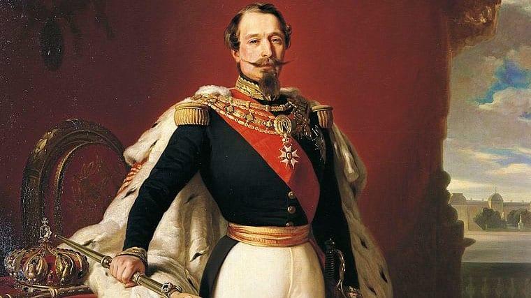 Louis-Napoléon Bonaparte aka the Emperor Napoleon III by Franz Xaver Winterhalter